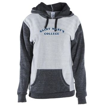 NCAA St. Mary's College of CA Gaels RYLSTM01 Mens/ Womens Color Block Hoodie