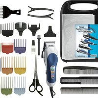 Wahl 79300-1001 Color Pro Hair Clipper Kit-26 Piece Kit:Amazon:Health & Personal Care