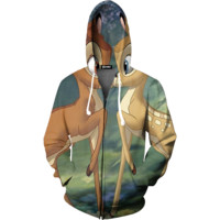Bambie and Friends Zip Up Hoodie