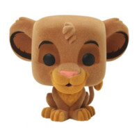 Disney The Lion King Pop! Flocked Simba Vinyl Figure