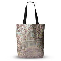 """Sylvia Cook """"Pink Dream"""" Everything Tote Bag"""