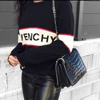 GIVENCHY Fashion Hot Sweatshirt Casual Sweater Top