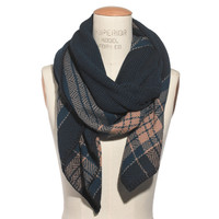 Blockplaid Scarf