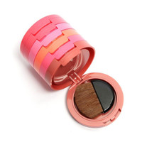 Fashion 5 Colours Blush Palette Face Blush Nude Makeup Cosmetic Set With Brush