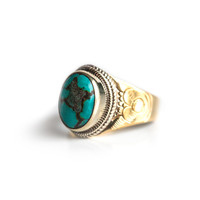 Single Turquoise Ring