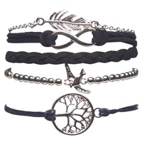 Birds of a Feather Bracelet Pack | Wet Seal