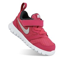 Nike Flex Experience 3 Toddler Girls' Running Shoes (Red)