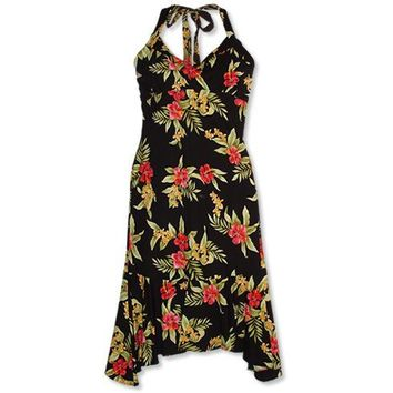 blacksand hawaiian akua dress
