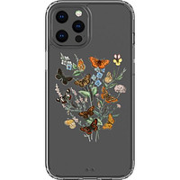 Botany Butterfly Clear Phone Case