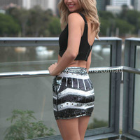 SPIRIT OF THE NIGHT SKIRT , DRESSES, TOPS, BOTTOMS, JACKETS & JUMPERS, ACCESSORIES, $10 SPRING SALE, PRE ORDER, NEW ARRIVALS, PLAYSUIT, GIFT VOUCHER, **SALE NOTHING OVER $30**,,SKIRTS Australia, Queensland, Brisbane