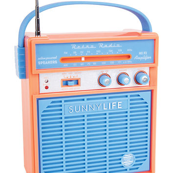 SUNNYLIFE Retro Sounds Radio | Speakers