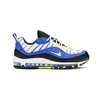 Nike Men's Air Max 98 Entourage Racer Blue