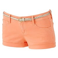 Candies Roll-Cuff Shortie Shorts - Juniors