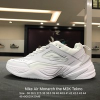 Nike Air Monarch the M2K Tekno White Sports Running Shoes Sneaker - AO3108-003