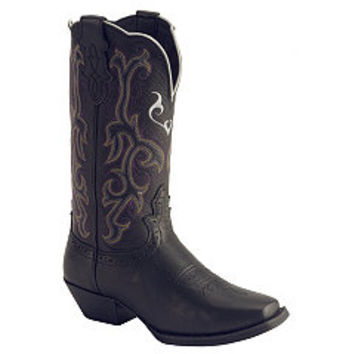 Sheplers: Justin Stampede Western Cowgirl Boots