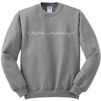 "Harry Styles ""Meet Me in the Hallway"" Crewneck Sweatshirt"