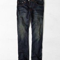 AEO Men's Relaxed Straight Jean (Dark Vintage Wash)