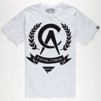 Fatal Ca 13 Mens T-Shirt White  In Sizes