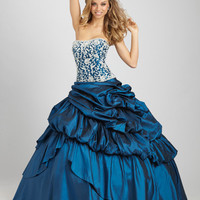 Quinceanera by Allure dress Q324 - Allure Prom Dress 2012 - NetFashionAvenue.com