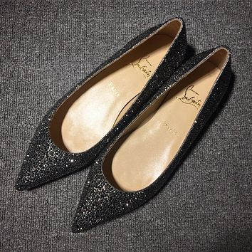 Cl Christian Louboutin Flat Style #722
