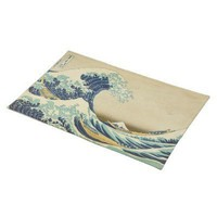 The Great Wave Off Shore of Kanagawa Placemat from Zazzle.com