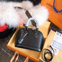 Louis Vuitton LV Epi Leather Top Handles ALMA BB