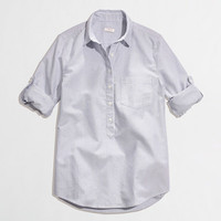 Factory stripe oxford popover - washed shirts - FactoryWomen's Shirts & Tops - J.Crew Factory
