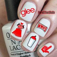 Glee Nail Decals