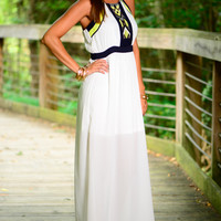 Be Satisfied Maxi, White