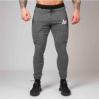 New High Quality Jogger Pants Men Fitness Bodybuilding Gyms Pants For Runners Clothing Autumn Sweat Trousers Britches
