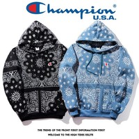 Hoodies Embroidery Alphabet Couple Tops Jacket [11412550279]