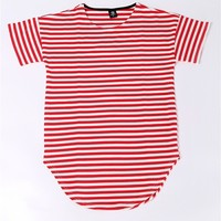High quality 2018 NEW men T shirt striped mens oversized tees hip hop male tops casual cotton casual kanye west style clothes