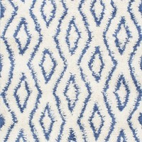 nuLOOM Hand Knotted Soukey Area Rug Blue