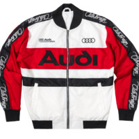 Club Foreign Rings Racing Jacket in Red