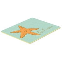 Starfish Welcome Kitchen or Bath Mat 24x36 BB8559JCMT