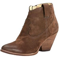 Reina Bootie in Dark Brown by The Frye Company