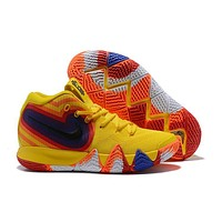 Nike Kyrie 4 Iv Yellow Colorful Basketball Shoe | Best Deal Online