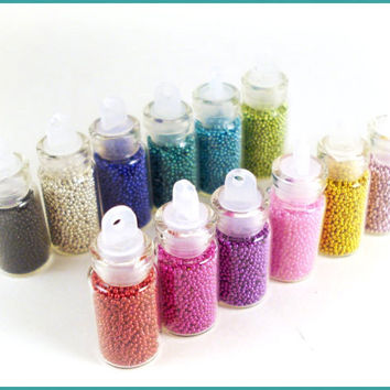 Caviar Nail Microbeads - Your choice of 1 bottle