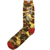 Camo Socks Misted Yellow