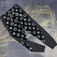 Louis Vuitton LV 2020 new spring and summer new casual pants trousers black white