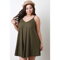 Sleeveless Boxy Shift Dress