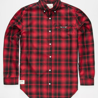 Lira Slate Mens Shirt Red  In Sizes