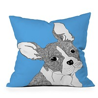 Casey Rogers Frenchy Throw Pillow