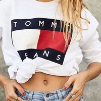 Tommy Jeans Casual Long Sleeve Pullover Sweatshirt Top Sweater-2