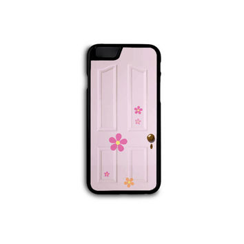 DISNEY Monster's Inc - Boo Door Phone Case for Galaxy S3/S4/S5 and iPhone 4/4S/5/5S/5C/6/6+ in Hard Plastic/Rubber
