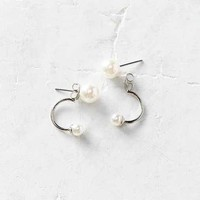 Front/Back Pearl Front/Back Earring