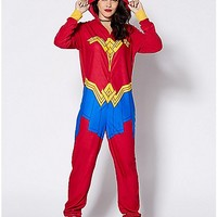 Wonder Woman Pajama Costume - DC Comics - Spencer's