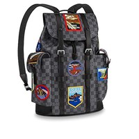 LLV CHRISTOPHER small backpack Made in France N44054