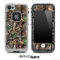 Real Woods Camouflage V3 Skin for the iPhone 5 or 4/4s LifeProof Case