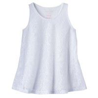 SONOMA life + style Lace Swing Tank - Girls